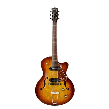 Godin 032327 5th Avenue CW Kingpin II Cognac Burst