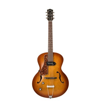 Godin 037728 5th Avenue Kingpin P90 Cognac Burst